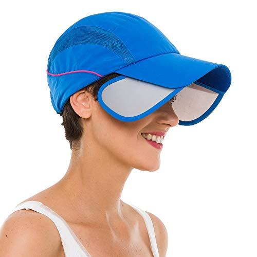 Speedy Turtle Sport Hat Anti UV Sunburn Lightweight Quick Dry Breathable Running Outdoor Cap (SH01-2)