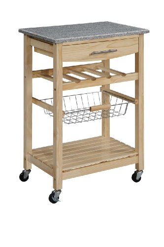Our #7 Pick is the Linon Kitchen Cart