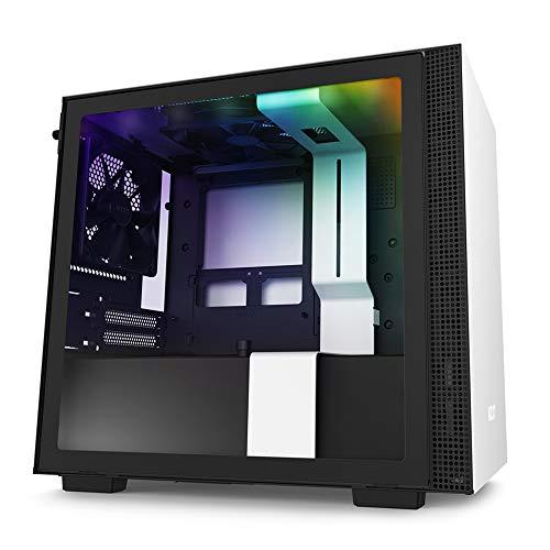NZXT H210i CA-H210i-W1 - Caja para Videojuegos Mini-ITX - Puerto Frontal I/O...