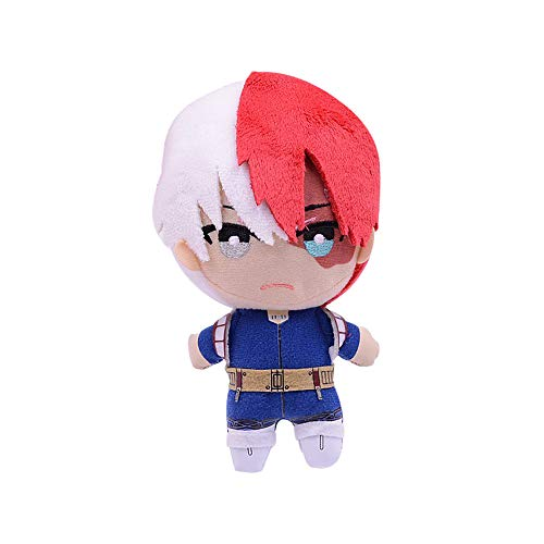 Shuifeng My Hero Academia Plush Pillow, Todoroki Shoto Plush Toy, My Hero Academia Plush Anime Fans Gift Decorative Collection