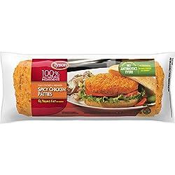 Tyson Fully Cooked Spicy Chicken Patties, 26.22 oz. (Frozen)