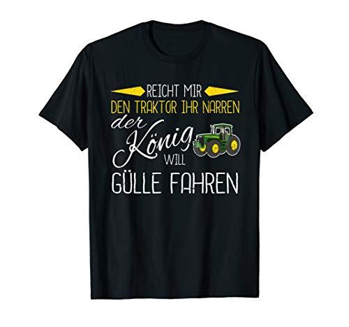 Landwirt Spruch Shirt Reicht Mir Den Traktor Bauer Geschenk