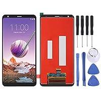 Fulvit for. LG Stylo 4 / Q Stylo 4 / Q710 / Q710MS / Q710CS(ブラック)のためのLCDスクリーンとデジタイザー全体組み立て (Color : Black)