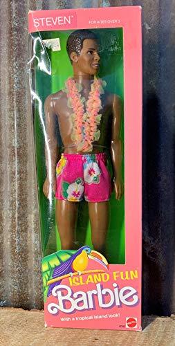 1987 Island Fun Steven Barbie Muñeca