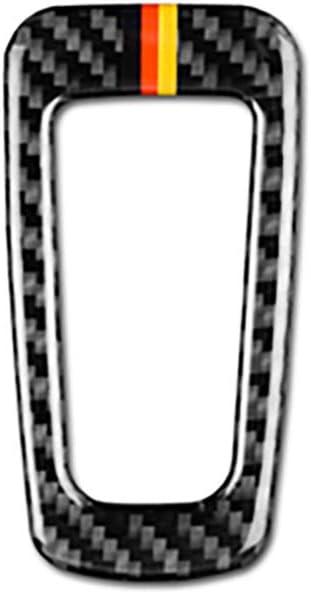NA Pegatina de Ajuste de bot/ón de Freno de Mano electr/ónico de Fibra de Carbono para Mercedes Benz W205 C Clase C180 C200 C300 GLC Accesorios