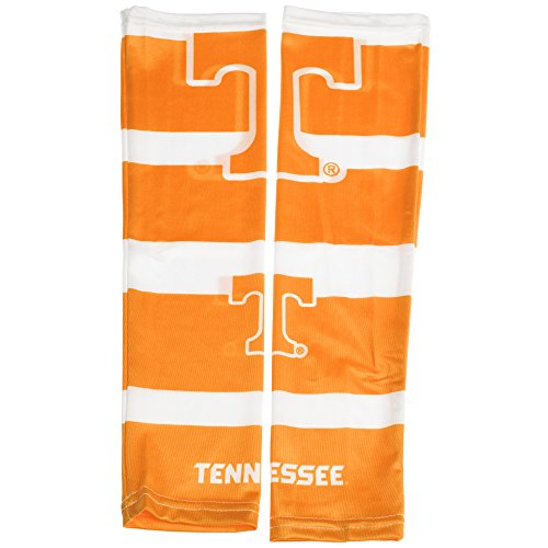 """Littlearth NCAA Game Day Strong Arms, Set of 2 - Tattoo Sleeves - Costume Tennessee Volunteers, Teamfarbe, 17"""" Wrist to Bicep"""