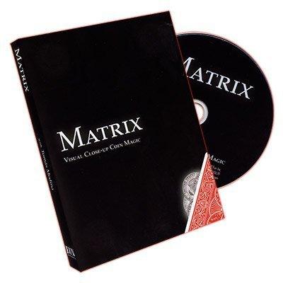 Matrix : Visual Close-up Coin Magic by Tomas Medina - DVD