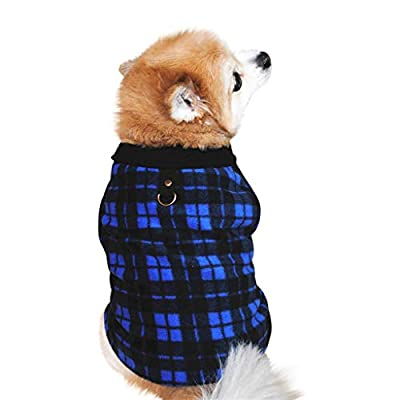 Summer Spring Fleece Pet Dogs Clothes For Puppy French Bulldog Coat Pug Costumes Jacket For Small Dogs Chihuahua Ropa Para Perro Pet Dog Cat Villus Warm Vest Puppy Doggy Apparel Clothing