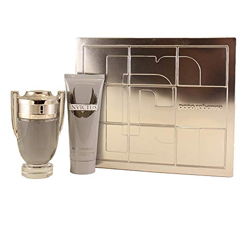 Paco Rabanne Invictus Set homme/men, Eau de Toilette, Vaporisateur/Spray 100 ml, Shower Gel 100 ml, 1er Pack (1 x 200 ml)