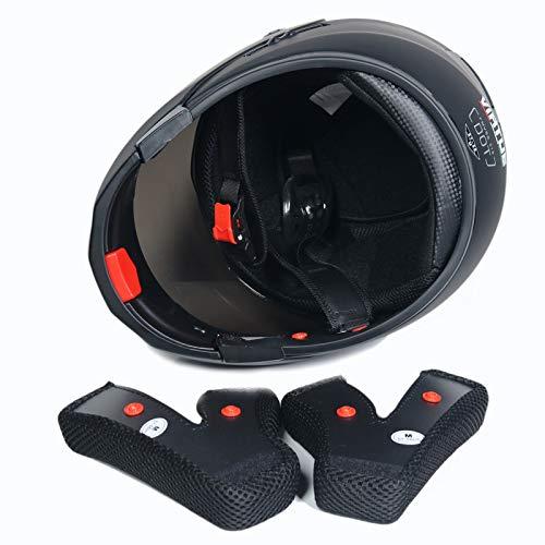 Motorcycle Helmet Inicio Full Face Flip up Modular Dual Visor Sun Shield Motocross Motorbike Helmet