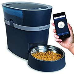 Feed from your phone: Feed your pet anytime from your smartphone with the smart feed app; App requires an iPhone or iPod device iOS 9.0 or later, or a compatible Android smartphone 6.0 or later Personalize your pet's meals: Schedule up to 12 meals fo...