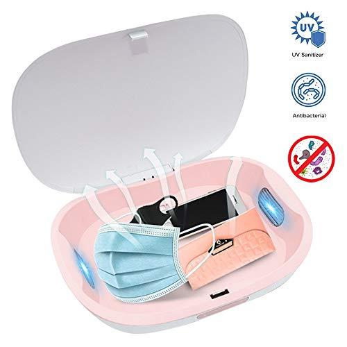 MAOMAOQUEENss Portátil Caja De Desinfección del Teléfono