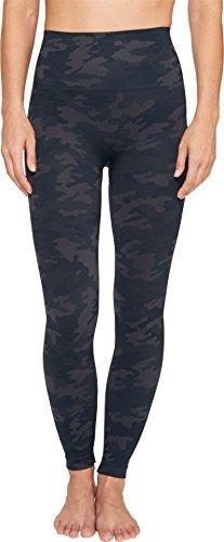 Spanx Damen Fl3515 Legging, Schwarz (Black Camo Black Camo), 34 (Herstellergröße: Small)