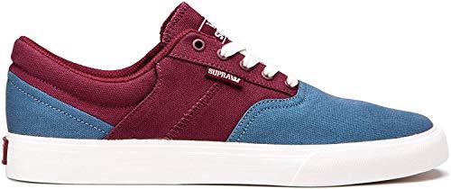 Supra Unisex-Erwachsene Cobalt Sneaker, Rot (Bering/Wine-Bone-M 461), 42 EU