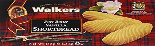 Walkers Shortbread Vanilla Shortbread (1 x 150 g Karton)