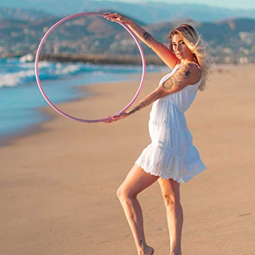 The Spinsterz Customizable Polypro Hula Hoop | Best for Tricks and Advanced Hoop Dance