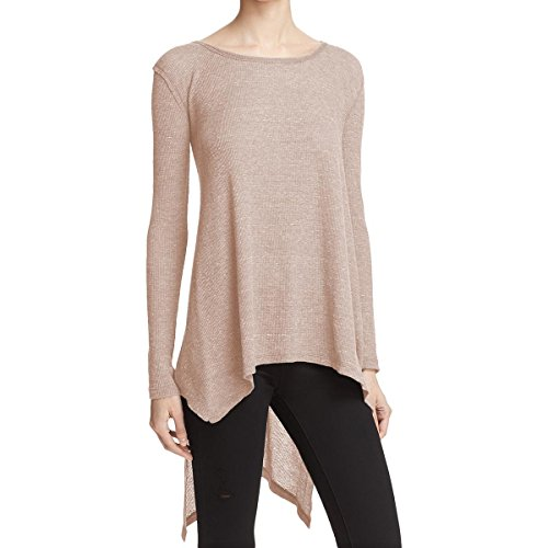 Free People Womens The Incredible Tee Latte Small