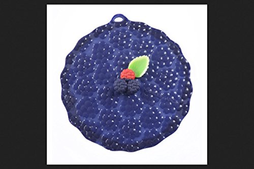 Charles Viancin 8541901797, blue Lid Blackberry Sil Rnd8