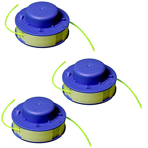 IKRA 13001731-3 Ersatzspulen (D) 3er-Set Fadenspulen für Rasentrimmer