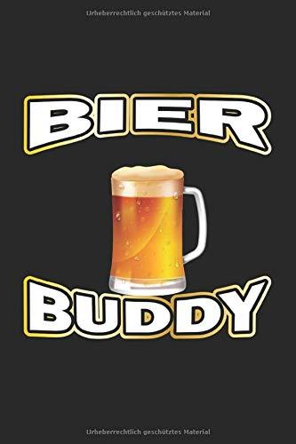 Bier Buddy: Notizbuch für Bier Liebhaber| Liniert | A5 | 120 Seiten