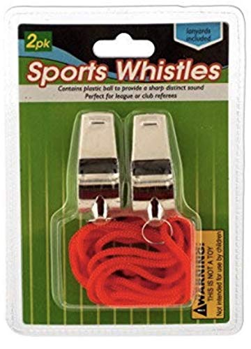 Whistles make great cheap stocking stuffers