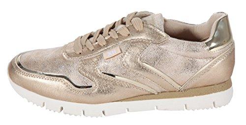 XTI - Zapatillas doradas, color Dorado, talla 38 EU
