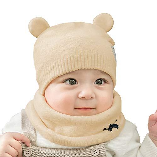 Sombreros de Invierno Para Bebés, Gorras de Bufanda de Invierno Para