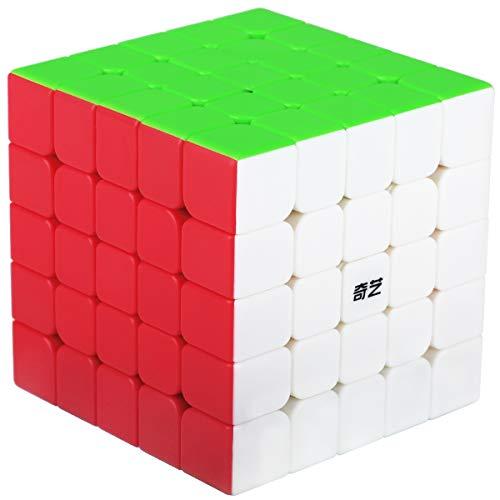 Cubo Magico 5x5 5x5x5 Speed Cube Puzzle Cubo de la Velocidad Niños Juguetes Educativos, Stickerless