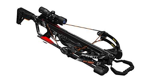 Barnett Archery Explorer XP 380 Crossbow  Compound Crossbow with Scope, Arrows & Quiver, Black Strike