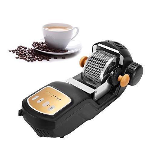 HAGENGOO Elektrische Kaffeeröster 250g Heißluft Kaffeeröstmaschine 1600W Mit 304 Edelstahlkäfig/Backgerät 1-7 Einstellbar Für Das Backen Von Kaffeebohnen Haushaltsgebrauch 220V