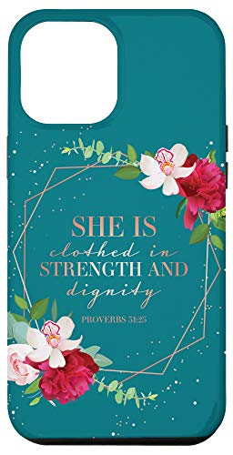 iPhone 12 Pro Max Christian Phone Cases Women Bible Verse Gifts Proverbs 31 Case