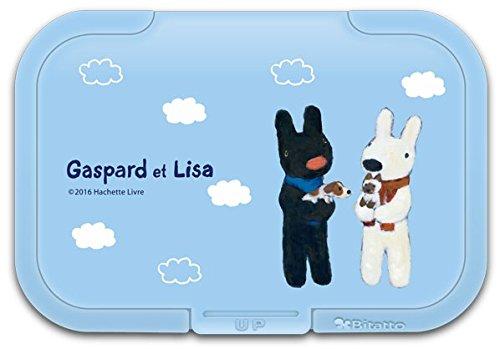 テクセルジャパン ビタット リサとガスパール 犬猫 ライトブルー 1コ入