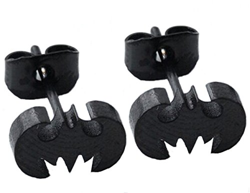 Bodytrend Batman Ohrringe 8 mm