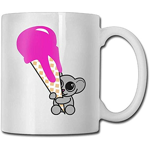 Leuke Kitty Ballerina Koffiemok Mannelijke Verjaardag Keramische Geschenken Theekopje, Het perfecte cadeau voor familie en vrienden, Leuke Koffiebeker