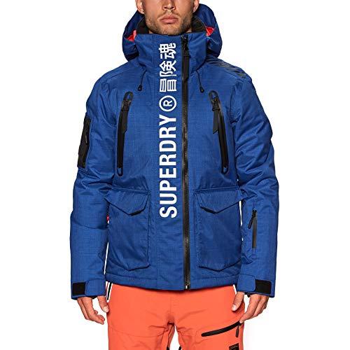 Superdry Herren Ultimate Mountain Rescue JKT Jacke, Mazarin-blau, XX-Large