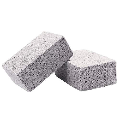 BESTONZON 2 piezas de limpieza de piedra de la parrilla para ...