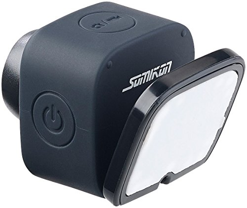 Somikon Selfie DV: Mini-Selfie-Cam mit WLAN und App-Steuerung, 720p, Klebepad & Magnet (Mini Kamera Magnet)