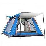 WBYY Carpa Playa Grande, Carpa Familiar, Refugio Automático para El Sol, Cabaña para 6-7 Personas, Carpa Playa con Dosel para Acampar,A