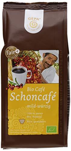 GEPA Schonkaffee mild und würzig 6er Pack (6 x 250 g Packung) - Bio