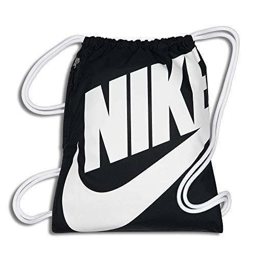 Nike Unisex-Erwachsene NK Heritage GMSK Turnbeutel, grau (Dark Grey/Black/Black)