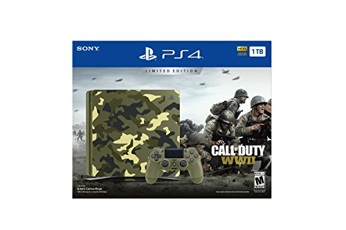 Playstation 4 - 1TB Slim - Call of Duty WWII Limited Edition Bundle