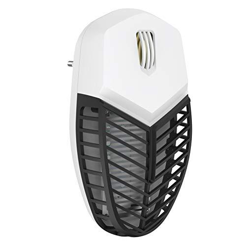 HPY 2in1 Insektenvernichter Elektrischer Schädlingsbekämpfer Ultraschallwellen mit Nachtlicht Mückenlampe UV Moskito Killer für Motten, Fliegen, Insekten und Mücken,Maus