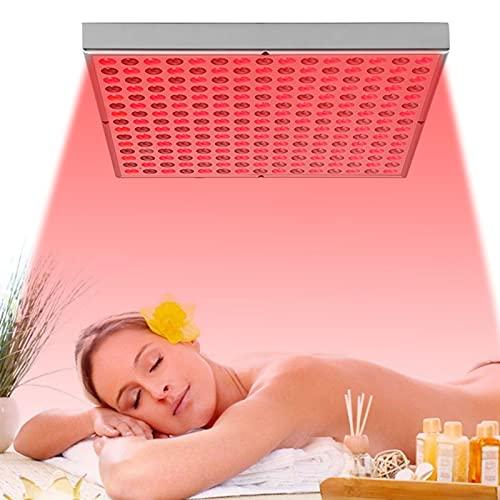 LiRuiPengBJ Terapia de Luz Roja, Lámpara de Terapia de Luz, Sauna de Infrarrojos con Temporizador para Piel Radiante, Inflamación/Dolor, Sueño, Rendimiento y Antienvejecimiento
