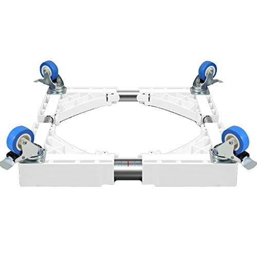 Idong Basis für Haushaltsgeräte - Beweglich Einstellbar Mobiler Multifunktions-Bremsscheibenhalter Klimaanlagen-Basis Einstellbare Basis für Kühlschrank Abnehmbare Basis für Multifunktions-Trockner Id