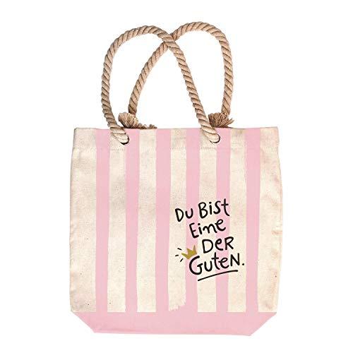 Happy Life Einkaufs-Tasche mit Motiv