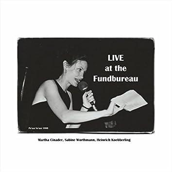 Live at the Fundbureau (feat. Sabine Worthmann, Heinrich Koebberling, DJ Marga Glanz & DJ Jeannie Hopper)