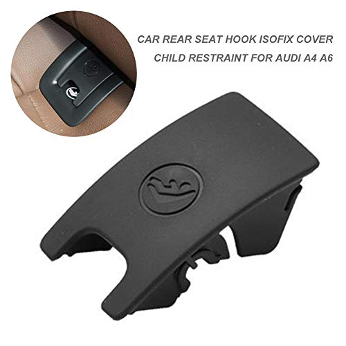 Fantastic Prices! pliab Rear Child Seat Buckle Fixed ISOFIX Cover Black Car Rear Seat Hook Restraint...