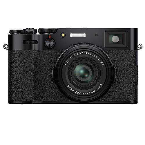 Fujifilm X100V - Cámara con Sensor APS-C de 26.1 Mpx, Color Negro