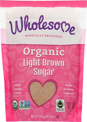 organic light brown sugar - 6