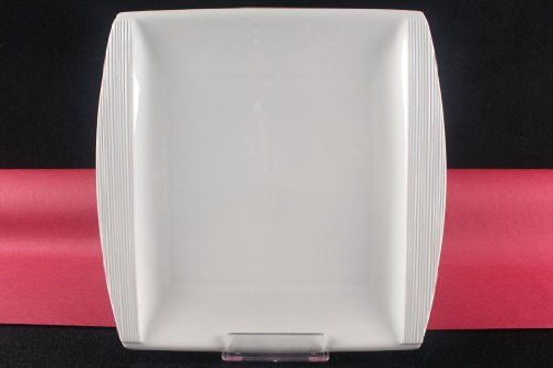 Teller Servierteller Flachteller Porzellan Weiß Gastronomiebedarf ca.31x30,5